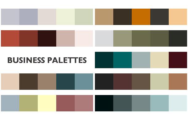 pickinga color scheme for print: color palettes.
