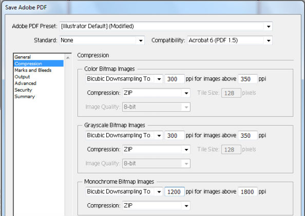 saving illustrator files